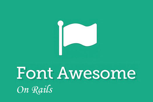 add font awesome icons to your rails forms