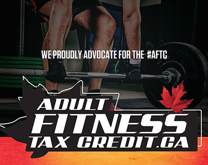 Adult Fitness Tax Credit poster